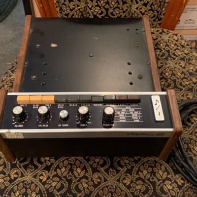 Vintage early '70s Roland Rhythm 33 drum machine