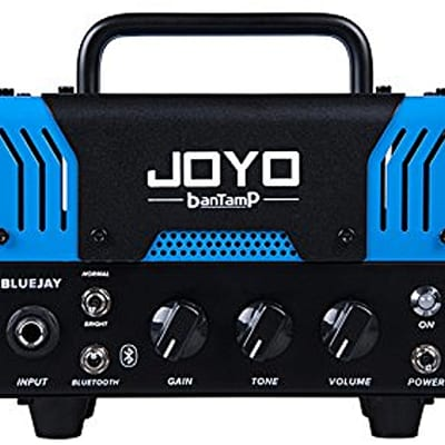 Joyo  BanTamP Series BlueJay 20 Watt 12ax7 Mini Tube Head w Bluetooth  2017 Blue