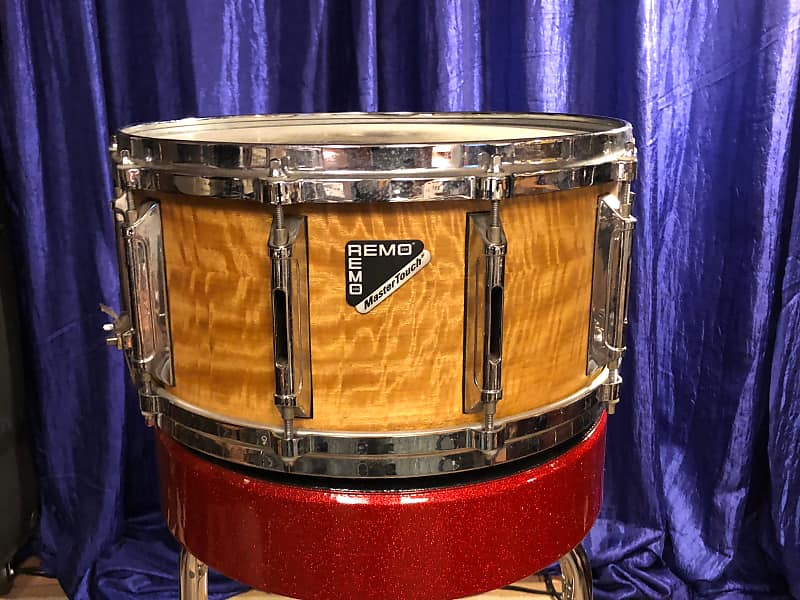 remo master touch snare drum 14 x 7 90 39 s vaneer wrap reverb. Black Bedroom Furniture Sets. Home Design Ideas