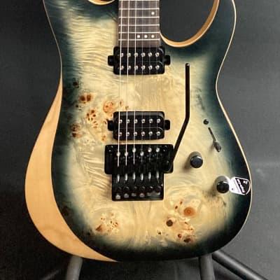 Schecter Reaper-6 FR Electric Guitar Satin Charcoal Burst Finish