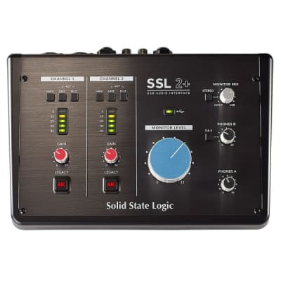 Solid State Logic SSL2+ USB Audio Interface