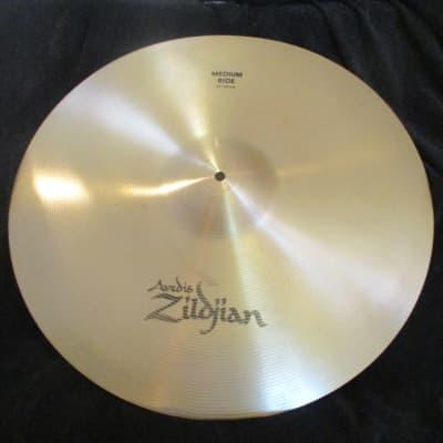 Zildjian Avedis 21 Inch Medium Ride Cymbal, 2780 Grams - Excellent Condition!