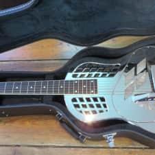 2000 National Resophonic Style 1 Tricone Resonator Guitar w/ Hardshell Case Gently Used image