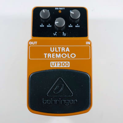 Behringer UT300 Ultra Tremolo Pedal  *Sustainably Shipped*