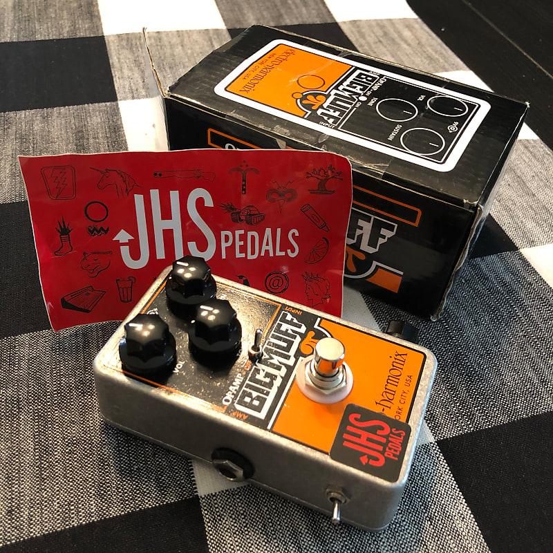 jhs electro harmonix op amp big muff pi reissue with reverb. Black Bedroom Furniture Sets. Home Design Ideas