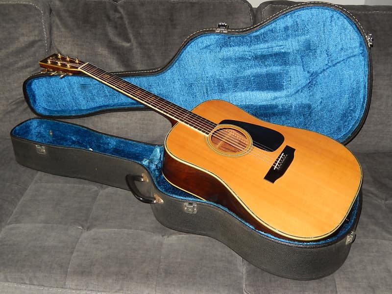 MADE IN 1985 MORRIS TF801 - ABSOLUTELY AMAZING D45 STYLE ACOUSTIC GUITAR