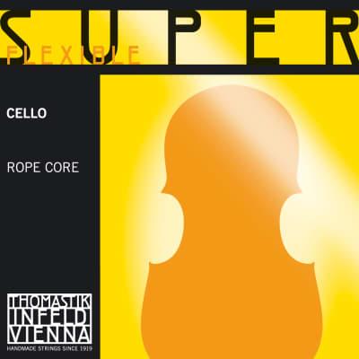 Thomastik-Infeld 26 SuperFlexible Aluminum Wound Rope Core 4/4 Cello String - A (Light)