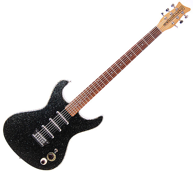Danelectro Hodad Baritone Electric Guitar - Black Gold ...