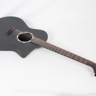 Composite Acoustics OX RAW Acoustic Only Carbon Fiber OM with Case @ LA Guitar Sales for sale