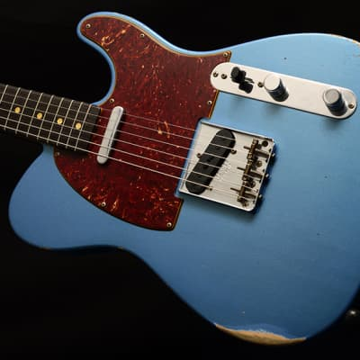 New Fender Custom Shop '63 Telecaster Relic Limited Lake Placid Blue! for sale