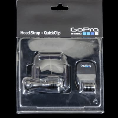 GoPro Camera Mount Head Strap + QuickClip