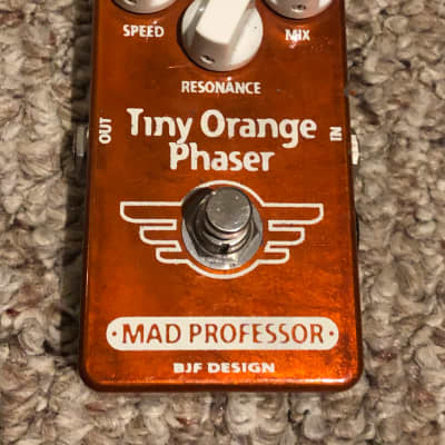 Mad Professor Tiny Orange Phaser Early Hand-Wired Version #45 for sale