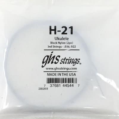 Ghs H-21 Tenor Uke 8-String