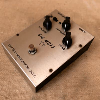 Electro-Harmonix Big Muff Triangle Knob V1 1969