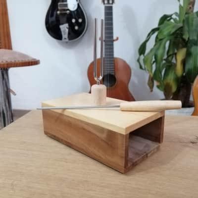 Tuning Fork Box - Deneuville RedGum for sale