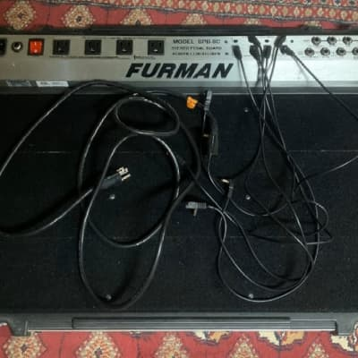 Furman Spb-8c Power Conditioner Pedalboard.