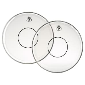 """Remo Powerstroke 77 Clear Top Clear Dot Drum Head 13"""""""