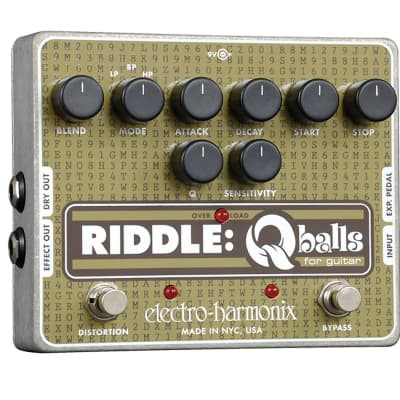 Electro-Harmonix RIDDLE Q Balls for Guitar, 9.6DC-200 PSU included