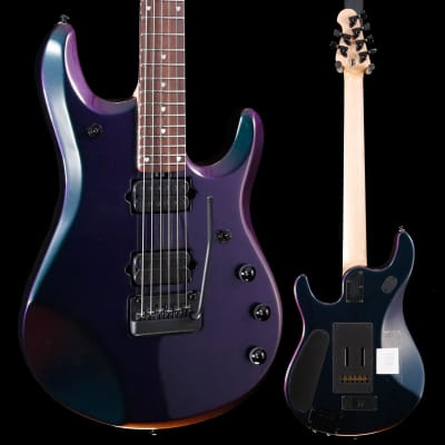 Ernie Ball Music Man John Petrucci JP6 w Piezo, Mystic Dream 315 7lbs 5.3oz for sale