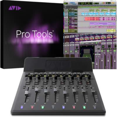 Avid S1 8-Fader Control Surface   Pro Tools Native Perpetual License Bundle