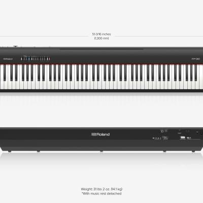 Roland Fp 30 Digital Piano Reverb