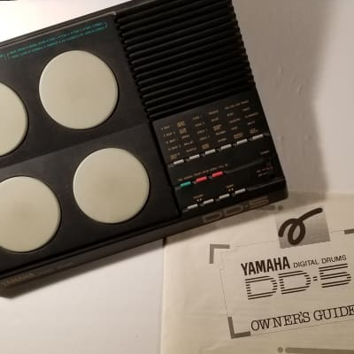 Vintage Yamaha DDD 5 Drum Pad MIDI Controller Machine with manual