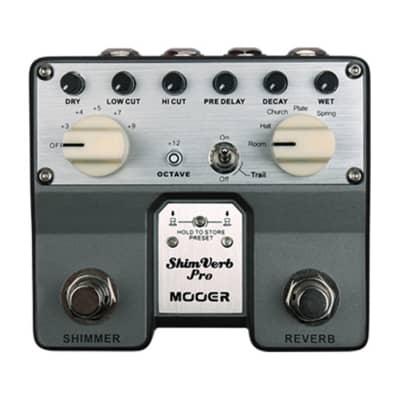 Mooer TRV1 ShimVerb Pro Reverb Guitar Effects Pedal