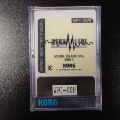 Korg WPC-00PI & II 1990 Wavestation disks
