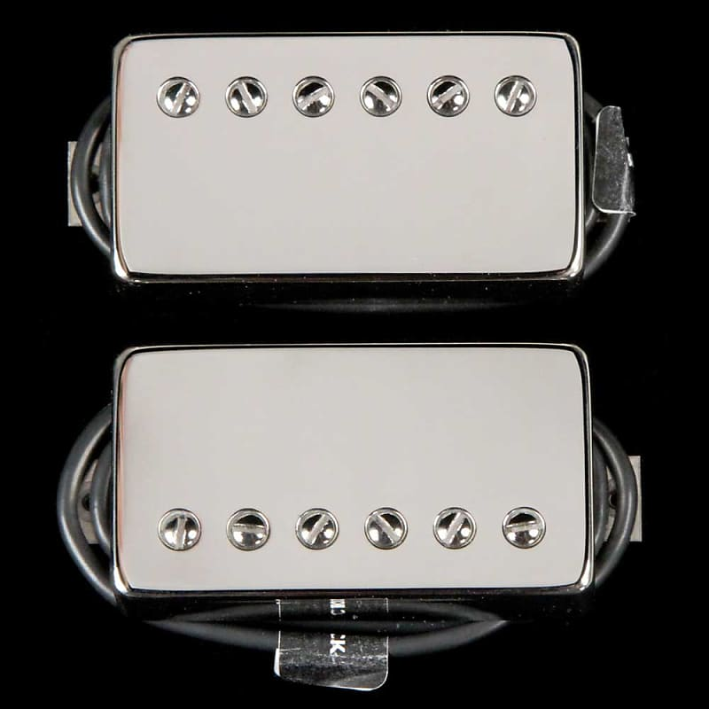 bare knuckle crawler humbucker pickup set polished nickel reverb. Black Bedroom Furniture Sets. Home Design Ideas