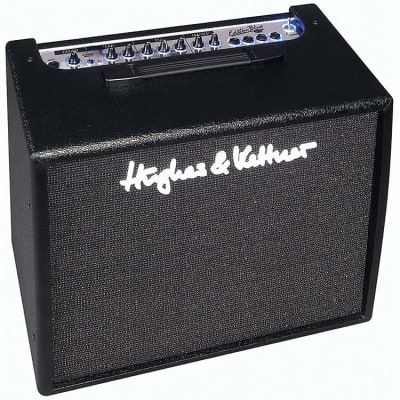"Hughes & Kettner Edition Blue 60R 2-Channel 60-Watt 1x12"" Solid State Guitar Combo"