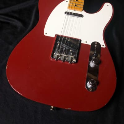 Fender   Custom Shop LTD Edition '55 Telecaster Journeyman-Cimarron Red cimmaron red for sale