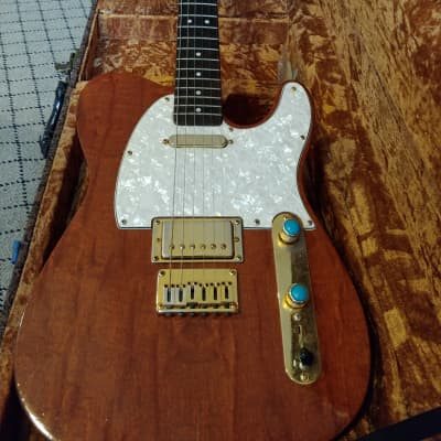 Patterson Handcrafted Telecaster 2016 Natural for sale