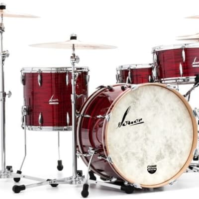 """Sonor Vintage Series 3pc Shell Pack 22""""x14"""" Bass /12"""" x 8"""" Tom / 14"""" x 12"""" FT -  With Free HS-LT-2000 Hardware Pack, DT-2000 Drum Throne and TA4000 w/MH-MC Multi Clamp"""