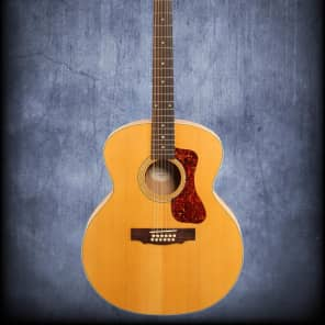 Guild F2512E 12String Acoustic Electric Natural for sale