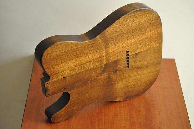 new vintage style telecaster tele guitar body 2 piece walnut reverb. Black Bedroom Furniture Sets. Home Design Ideas