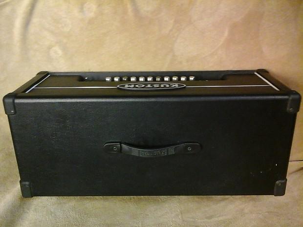 kustom quad 200hd guitar amp head reverb. Black Bedroom Furniture Sets. Home Design Ideas
