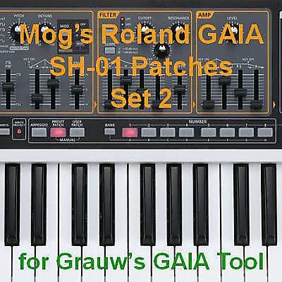 Mog's Roland GAIA Patches - Set 2
