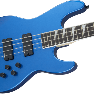 NEW! Jackson JS Series Concert Electric Bass JS3 Metallic Blue Finish  - Authorized Dealer