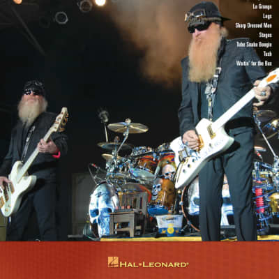 ZZ Top Guitar Play-Along Volume 99 With CD Accompaniment