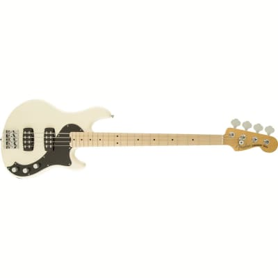 Fender Fender American Standard Dimension IV HH Bass 2014 Olympic White for sale
