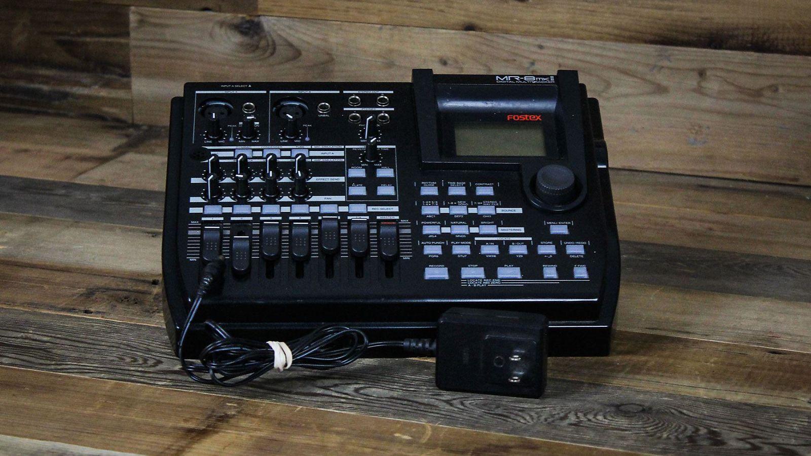 fostex mr 8 mk2 digital 8 track recorder reverb. Black Bedroom Furniture Sets. Home Design Ideas