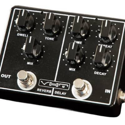 VHT Echo-Verb AV-EV1 ANALOG DELAY and REVERB Guitar Pedal 2015 Black image