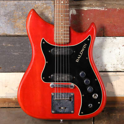 1960's Baldwin Burns Nu-Sonic Red for sale