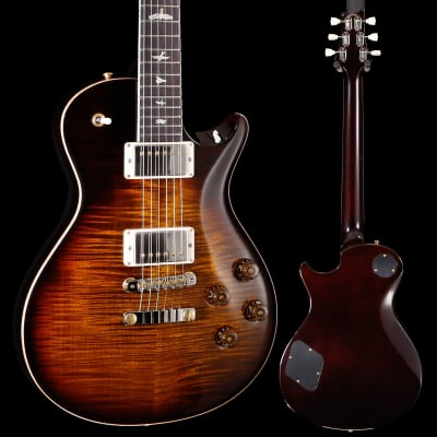 PRS Paul Reed Smith McCarty 594 Singlecut 10 Top, Custom Black Gold w Binding 905 8lbs 4.4oz for sale