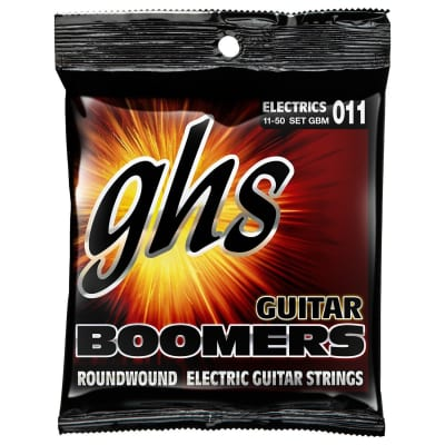 GHS Boomers Roundwound Electric Strings - 11-50