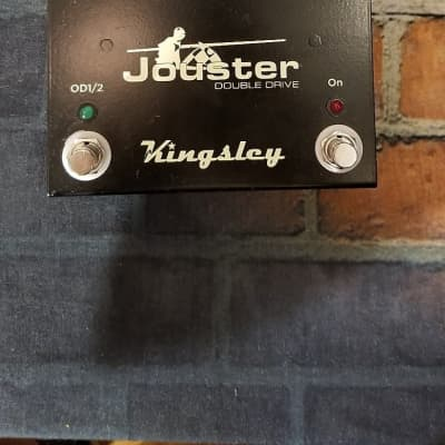 Kingsley Jouster Double Drive V2 Black Extraordinary Pedal! for sale