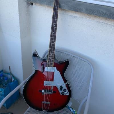 EGMOND Bass 7 1964 Sunburst for sale
