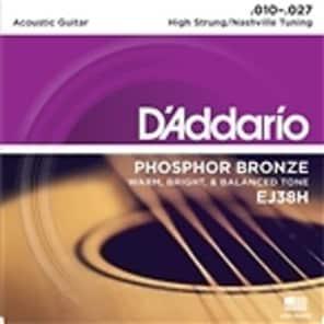 D'Addario EJ38H Acoustic Guitar Strings - Nashville Tuning - 1 Set
