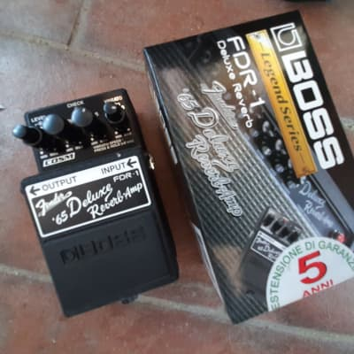 Boss FDR-1 Fender '65 Deluxe Reverb Amp Pedal for sale