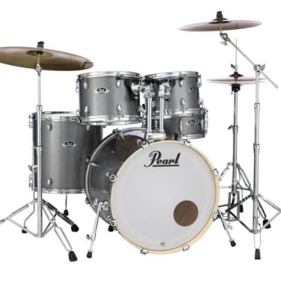 Pearl Export 5pc. Drum Set With Hardware - Grindstone Sparkle